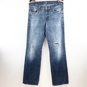 CITIZENS OF HUMANITY Distressed Relaxed Jeans